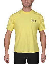 Camiseta amarilla de iQ-Company