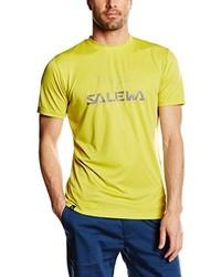 Camiseta amarilla de Salewa