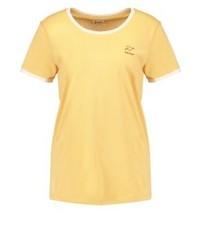Camiseta con cuello circular amarilla de Forvert