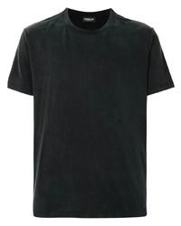 Camiseta con cuello circular azul marino de Dondup