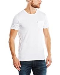 Camiseta con cuello circular blanca de Ben Sherman
