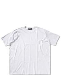 Camiseta con cuello circular blanca de Casamoda