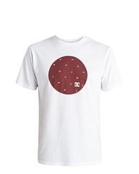 Camiseta con cuello circular blanca de DC Shoes