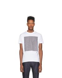 Camiseta con cuello circular blanca de DSQUARED2