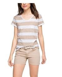 Camiseta con cuello circular blanca de edc by Esprit
