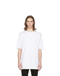 Camiseta con cuello circular blanca de Faith Connexion