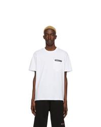 Camiseta con cuello circular blanca de Givenchy