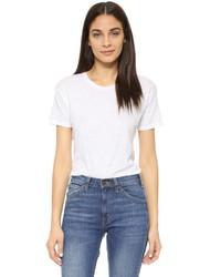 Camiseta con cuello circular blanca de Madewell