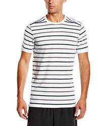 Camiseta con cuello circular blanca de Nike
