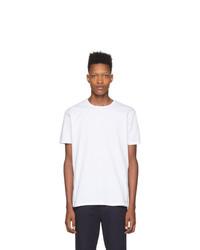 Camiseta con cuello circular blanca de Paul Smith
