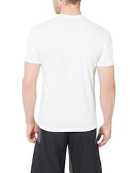 Camiseta con cuello circular blanca de Ultrasport