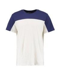 Camiseta con cuello circular celeste de YOURTURN