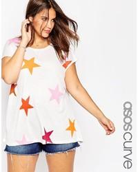 Camiseta con cuello circular medium 354822