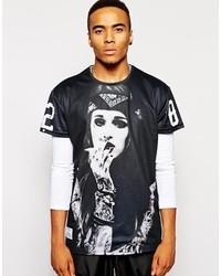 Camiseta con cuello circular medium 121350