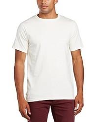 Camiseta con cuello circular en beige de Anvil