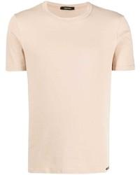 Camiseta con cuello circular en beige de Tom Ford