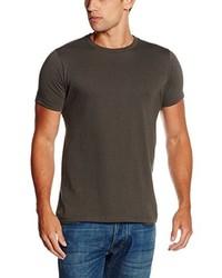 Camiseta con cuello circular en gris oscuro de Fruit of the Loom
