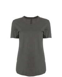 Camiseta con cuello circular en gris oscuro de Lost & Found Rooms