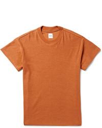Camiseta con cuello circular en tabaco de Fanmail