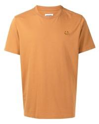 Camiseta con cuello circular en tabaco de Kenzo