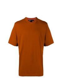 Camiseta con cuello circular en tabaco de Y-3