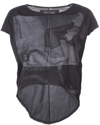 Camiseta con cuello circular estampada en gris oscuro de Tuesday Night Band Practice