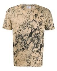 Camiseta con cuello circular estampada marrón claro de Rossignol
