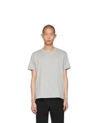 Camiseta con cuello circular gris de Comme Des Garcons SHIRT