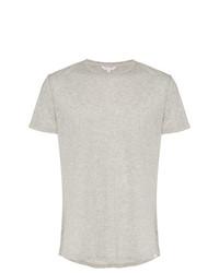 Camiseta con cuello circular gris de Orlebar Brown