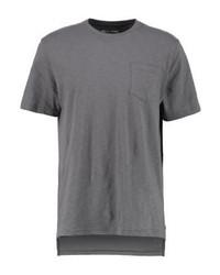 Camiseta con Cuello Circular Gris de YOURTURN