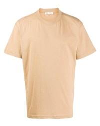 Camiseta con cuello circular marrón claro de Cmmn Swdn