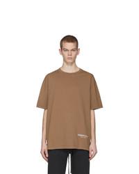 Camiseta con cuello circular marrón claro de Essentials