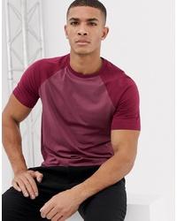 Camiseta con cuello circular morado de ASOS DESIGN