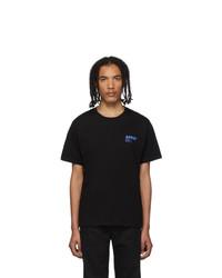 Camiseta con cuello circular negra de AFFIX