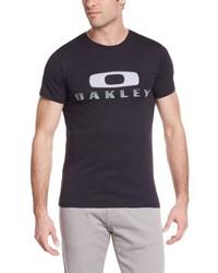 Camiseta con cuello circular negra de Oakley