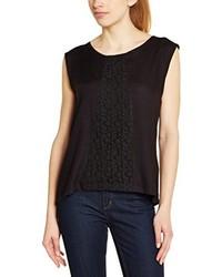 Camiseta con cuello circular negra de Rip Curl