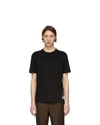 Camiseta con cuello circular negra de Tiger of Sweden