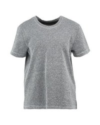 Camiseta con cuello circular plateada de Circle of Trust