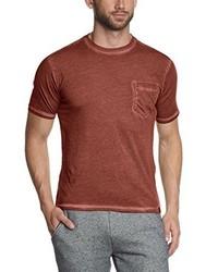 Camiseta con cuello circular roja de Dockers