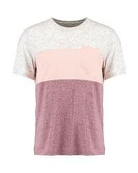 Camiseta con cuello circular rosada de YOURTURN