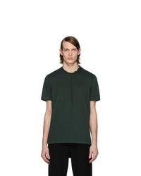 Camiseta con cuello circular verde oscuro de Craig Green