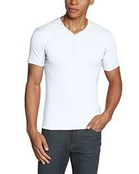 Camiseta con cuello en v blanca de J.M. GARCIA GARCIA, S.A.