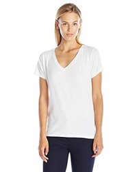 Camiseta con Cuello en V Blanca de Juicy Couture