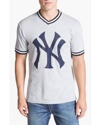 Camiseta con cuello en v estampada original 4027710