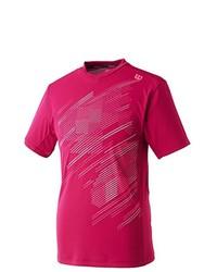Camiseta con cuello en v rosa de Wilson