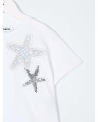 Camiseta de Estrellas Blanca