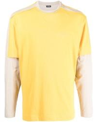 Camiseta de manga larga amarilla de Jacquemus