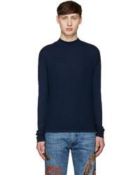 Camiseta de manga larga azul marino de Diesel Black Gold