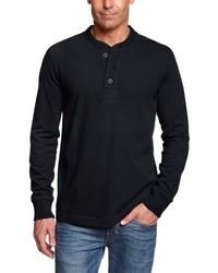 Camiseta de manga larga azul marino de Eddie Bauer
