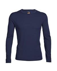 Camiseta de manga larga azul marino de Ice Breaker